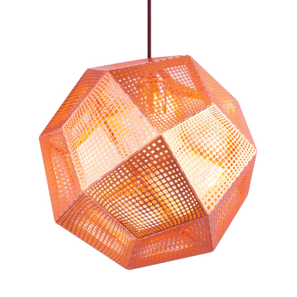 Светильник Etch Shade Copper фабрики Tom Dixon
