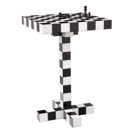 Стол в шахматную клетку Chess Table фабрики Moooi